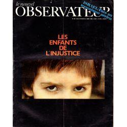 Le Nouvel Observateur n° 224 - 24 février 1969 - Les enfants de l'injustice