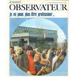 Le Nouvel Observateur n° 223 - 17 février 1969 - Je ne veux plus être professeur...
