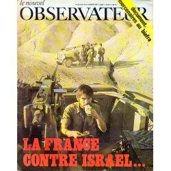Le Nouvel Observateur n° 218 - 13 janvier 1969 - La France contre Israël