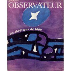 Le Nouvel Observateur n° 215 - 23 décembre 1968 - Les Chrétiens de 1969