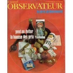 Le Nouvel Observateur n° 213 - 9 décembre 1968 - Peut-on éviter la hausse des prix ?