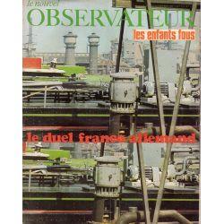 Le Nouvel Observateur n° 212 - 2 décembre 1968 - Le duel franco-allemand