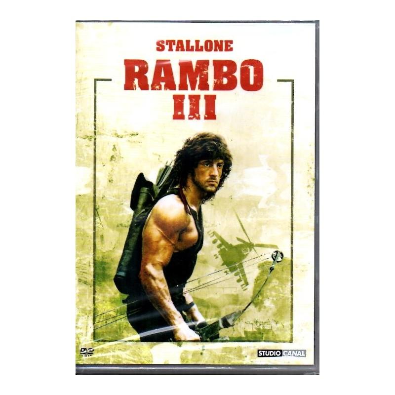 Rambo III (Sylvester Stallone) - DVD Zone 2