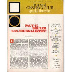 Le Nouvel Observateur n° 210 bis - 20 novembre 1968 - Faut-il bruler les journalistes ?