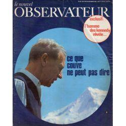 Le Nouvel Observateur n° 202 - 23 septembre 1968 - Ce que Couve de Murville ne peut pas dire