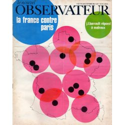 Le Nouvel Observateur n° 201 - 16 septembre 1968 - La France contre Paris