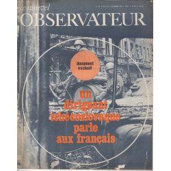 Le Nouvel Observateur n° 199 - 2 septembre 1968 - Un dirigeant Tchécoslovaque parle aux français