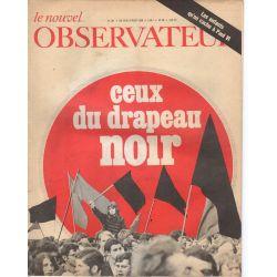 Le Nouvel Observateur n° 197 - 19 aout 1968 - Ceux du drapeau Noir