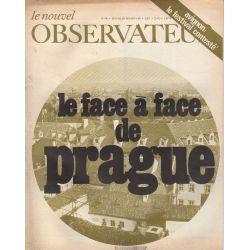 Le Nouvel Observateur n° 194 - 29 juillet 1968 - La face à face de Prague