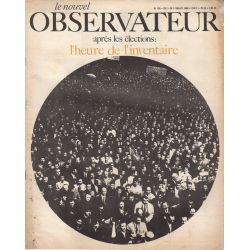 Le Nouvel Observateur n° 190 - 3 juillet 1968 - Après les élections : l'heure de l'inventaire