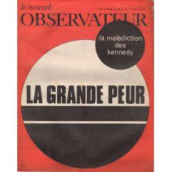 Le Nouvel Observateur n° 186 - 7 juin 1968 - La Grande Peur