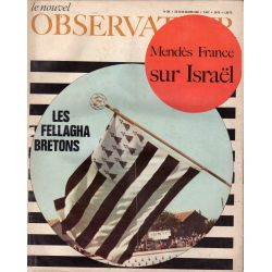 Le Nouvel Observateur n° 180 - 24 avril 1968 - Les fellagha bretons