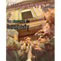 Le Nouvel Observateur n° 176 - 27 mars 1968 - Les chances de Kennedy