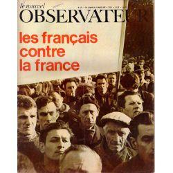 Le Nouvel Observateur n° 173 - 6 mars 1968 - Les Français contre la France