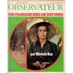 Le Nouvel Observateur n° 123 - 22 mars 1967 - Une Française chez les Viet-Congs