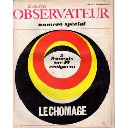Le Nouvel Observateur n° 119 - 22 février 1967 - 5 français sur 10 craignent le chômage