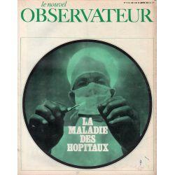 Le Nouvel Observateur n° 112 - 4 janvier 1967 - La maladie des hôpitaux