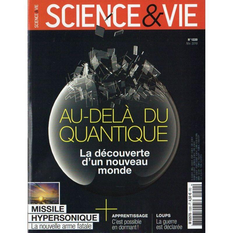 Science & Vie n° 1220 - Au-delà du Quantique, la découverte d'un nouveau monde