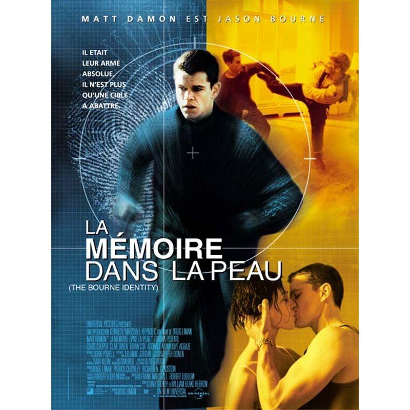 Affiche La Mémoire dans la Peau (de Doug Liman)
