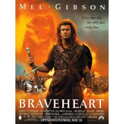 Affiche Braveheart (de Mel Gibson)