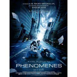 Affiche Phénomènes (de M. Night Shyamalan)