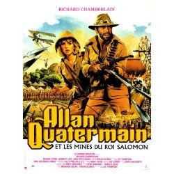 Affiche Allan Quatermain Et Les Mines Du Roi Salomon (de J. Lee Thompson)