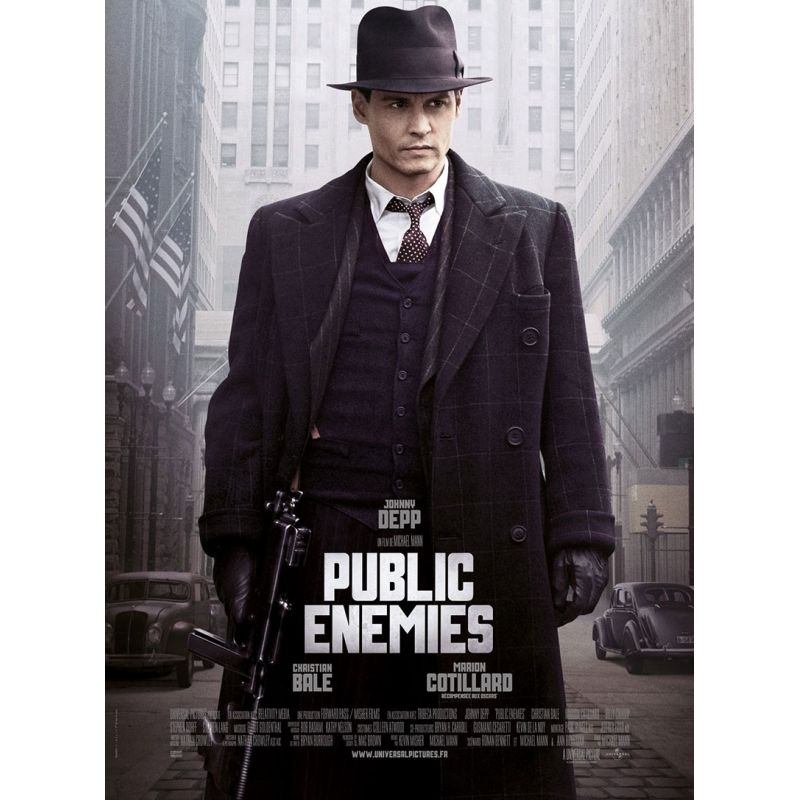 Affiche Public Enemies (de Michael Mann)