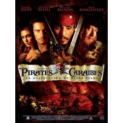 Affiche Affiche Pirates des Caraïbes - La Malédiction du Black Pearl