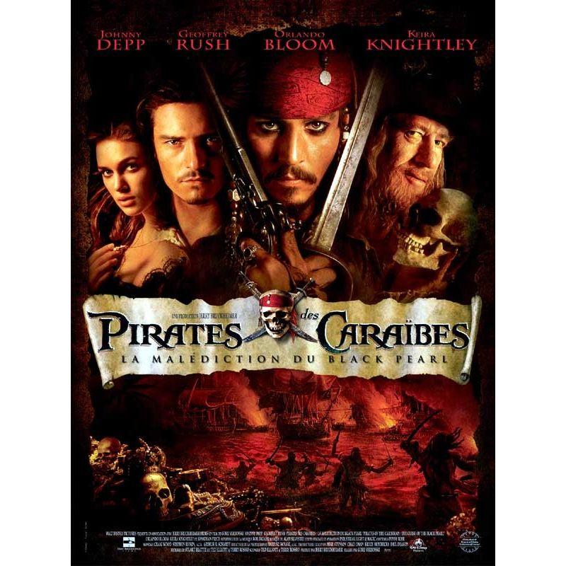Affiche Affiche Pirates des Caraïbes - La Malédiction du Black Pearl