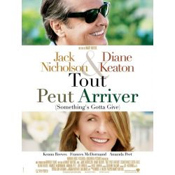 Affiche  Tout peut arriver (Something's Gotta Give) (de Nancy Meyers)