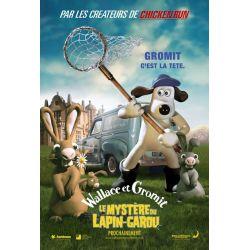 Affiche Wallace et Gromit - Le mystère du lapin-garou