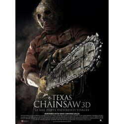 Affiche Texas Chainsaw (de John Luessenhop)