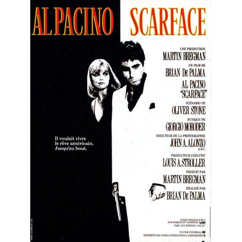 Affiche Scarface (de Brian De Palma)
