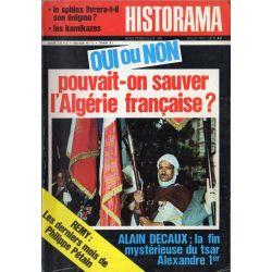 Historama n° 248 - Oui ou Non, pouvait-on sauver l'Algérie française ?