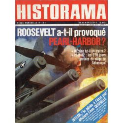 Historama n° 228 - Roosevelt a-t-il provoqué Pearl-Harbor ?