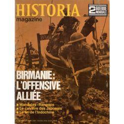 Historia Magazine 2e Guerre Mondiale n° 90 - Birmanie : l'offensive alliée