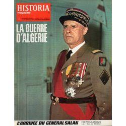 Historia Magazine n° 221 - La Guerre d'Algérie - L'arrivée du Général Salan