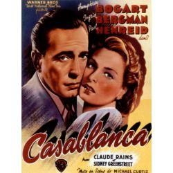 Affiche Casablanca (de Michael Curtiz)