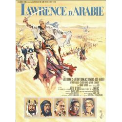 Affiche Lawrence d'Arabie (de David Lean)