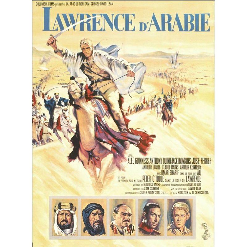 Affiche Lawrence d'Arabie (de David Lean)