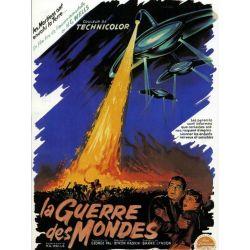 Affiche La Guerre des Mondes (de Byron Haskin)
