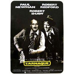 Affiche L'Arnaque (de George Roy Hill avec Paul Newman)