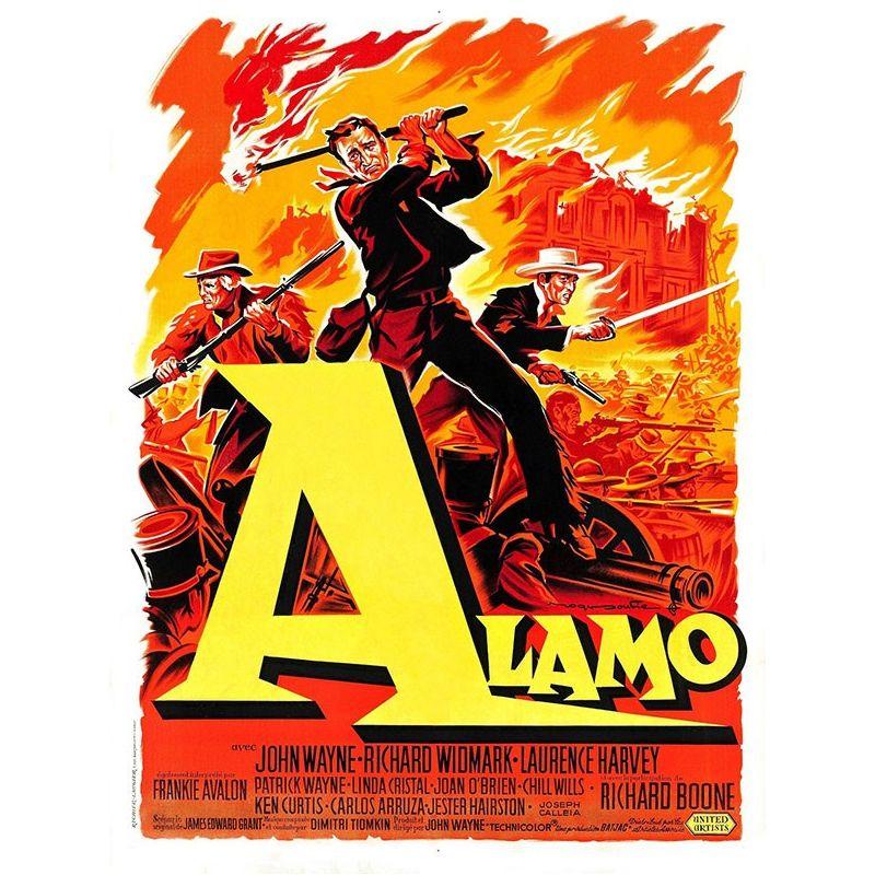 Affiche Alamo (de John Wayne)