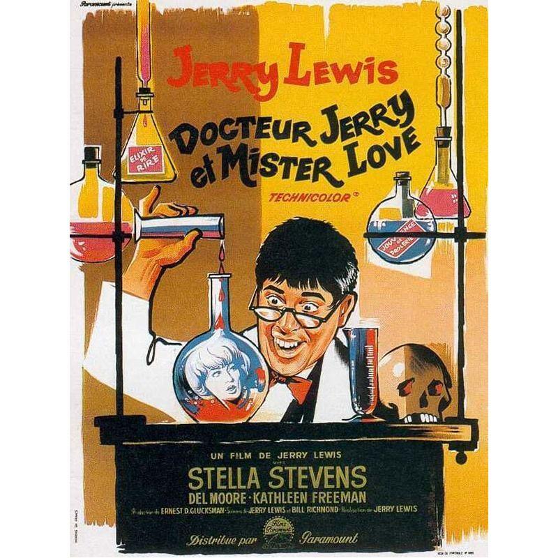 Affiche Docteur Jerry et Mister Love (de Jerry Lewis)