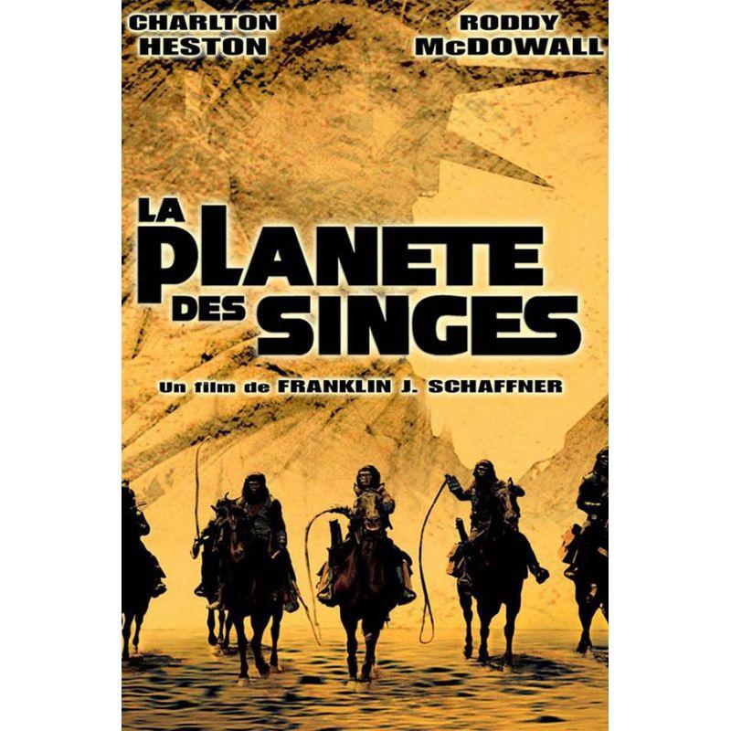 Affiche La Planète des Singes (de Franklin J. Schaffner)
