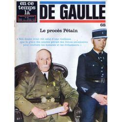 En ce temps là De Gaulle n° 68 - Le procès Pétain