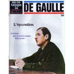 En ce temps là De Gaulle n° 56 - L'épuration