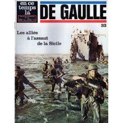 En ce temps là De Gaulle n° 33 - Les alliés à l'assaut de la Sicile