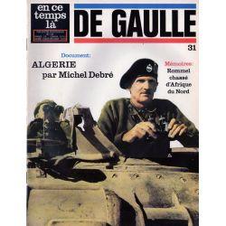 En ce temps là De Gaulle n° 31 - Mémoires : Rommel chassé d'Afrique du Nord