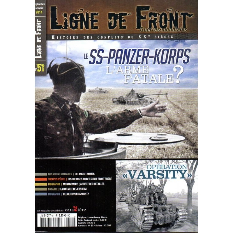 Ligne de Front n° 51 - Le SS-Panzer-Korps, l'Arme fatale ?